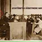 Atatürke Sorarlar, Milletvekili Maaşı Ne Kadar Olsun? Atatürk Cevap Verir ; Öğretmen Maaşını Geçmesin.! http://t.co/FfYec1CoEW