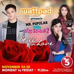 Kyle+Chelsea Royal Wedding? Watch na ng #WattpadPRESENTS Mr.Popular meets Ms. Nobody 2, 9:30 PM on TV5 #TipsToBeLoved http://t.co/1JUC9ZWReS