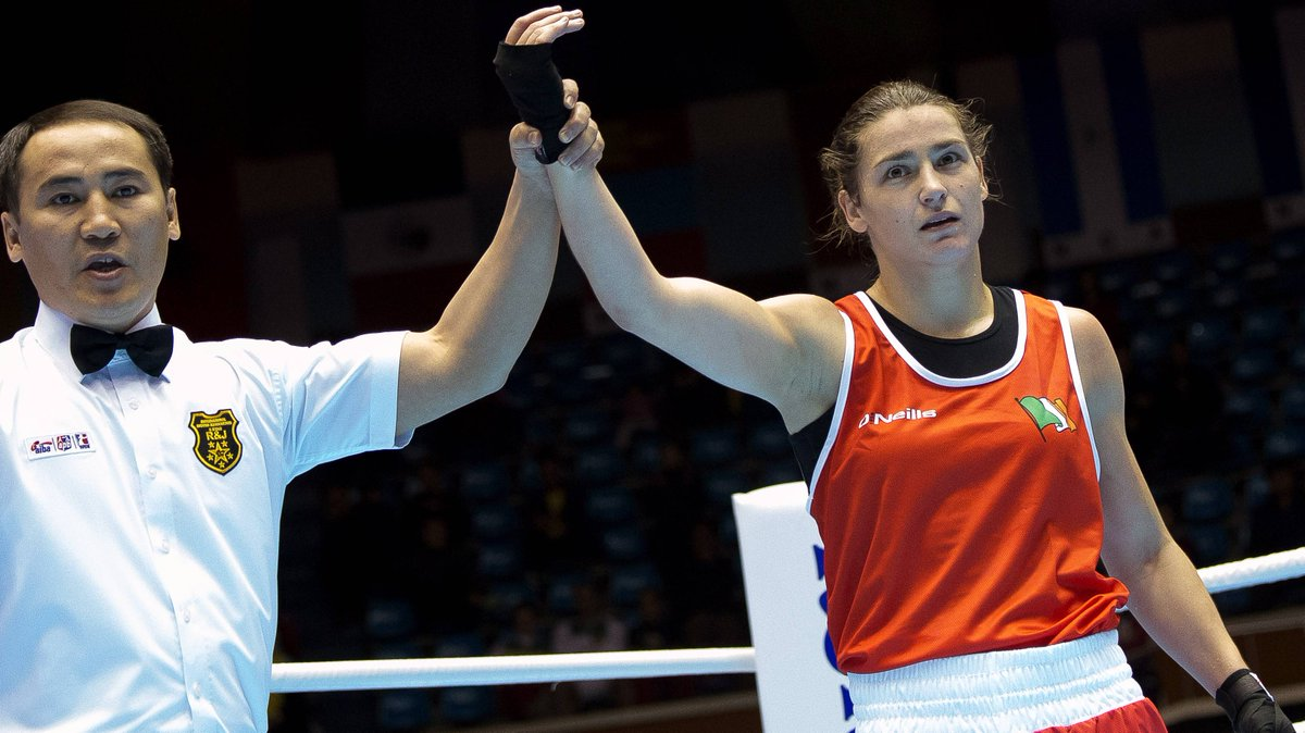 Katie Taylor has won her fifth consecutive world title, in Jeju, South Korea http://t.co/JDn2MCShuh http://t.co/xSI3KvKD2p