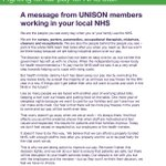 A message from your nurses, midwives, porters, ambulance workers, hospital and NHS staff. #NHSstrike #NHSpay http://t.co/BU7UMqm9yX