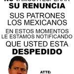 Y si me ayudan a compartirla en @EPN para que se entére de que nos tiene hart@s @epigmenioibarra @Pajaropolitico http://t.co/Ux1zCUHQ3L
