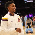 .@NickSwagyPYoung is back in his first game at STAPLES this season. #GoLakers http://t.co/ACSRbyE0CA