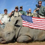 #SustainabilitySunday 6 men help take the Rhino to extinction. Their names & faces should be known to EVERY American. http://t.co/ZVXIfvj4XR