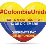 Si Usted no quiere ser gobernado por los Terroristas Farc........Marche el 13 de Diciembre #PazSinImpunidad http://t.co/5sgf7eYYL7