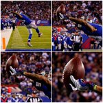 Real talk...it looks like Odell Beckham Jr caught that with 3 fingers!  3 FINGERS!!! http://t.co/8L1z0QAlQR