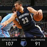 Grizz! Grizz! Grizz! Grizz! Beasts of the Southern Wild! #MEMPHIS10 #Choose901 #CHAMPIONSHIPMentality #Winning http://t.co/9bgTSAGlwB