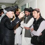 President Ghani talking to the relatives of those wounded in yesterdays terrorist attack in Yahya Khail of Paktika. http://t.co/a922krIXC3