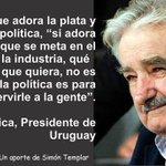 @taller2006 #YaMeCanse José Mujica: La política es para servir a la gente... http://t.co/FaIemrButS @epigmenioibarra