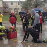 These two men just ran 550 miles, from Atlanta to Michael Brown's memorial In Ferguson http://t.co/cvEysSP876 http://t.co/mEMth8qDxX