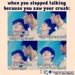 """[★] """"When you stopped talking to your friend because you saw your crush"""" http://t.co/M8GeBX8t4w http://t.co/pQSdQMljHh"""