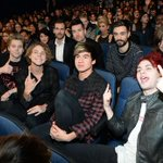 """""""@TheAMAs: #5SOSfam, a performance AND a win? How did your hearts handle tonight?! #AMAs http://t.co/7imNvSpAmu"""""""