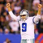 Tony Romo comes through in the clutch for Dallas. His 9th career game w/ 4 Pass TD sets Cowboys franchise record. http://t.co/29dpCprZ07