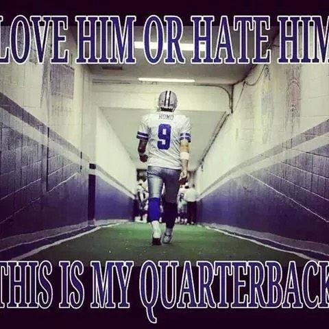 Nothing but love for him RT @waldant: This is my QB!!!! http://t.co/AMzw1mFVYI