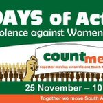 Lets turn #16days of activism for no violence against women & children into #365days of activism. RT to support. http://t.co/uFA7K9qkfc