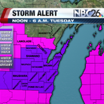 NBC26 STORM ALERT: A WINTER STORM WARNING GOES INTO EFFECT THIS AFTERNOON FOR MUCH OF NE WISCONSIN. http://t.co/mLLWIf1Znv