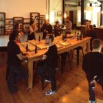 its a #tedxwelly #tedxtearo #tedxhomebushrd speaker meetup at @wellychocfactor http://t.co/9NL5OH357L