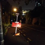 """.@AklTransport you need another sign: """"DANGER FOOTPATH OBSTRUCTED BY BIG ROAD SIGN"""" Whitaker Pl, CBD http://t.co/05cJZsDLOa"""