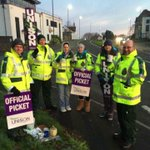 #NHSStrike @SwAmbUNISON members are on strike across the South West today #NHSPay http://t.co/R94dVl9eF1