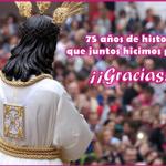 Juntos hicimos posible 75 años de devoción a NP Jesús Cautivo y juntos lo seguiremos haciendo posible ¡GRACIAS! http://t.co/ZkCpu7HvIw