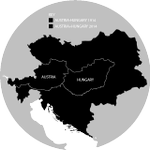 Austria and Hungary compared to Austria-Hungary 100 years later - http://t.co/RRxq4Lp6H0 http://t.co/SOKo8VRgo3