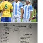 Papelón. El Lobo Cordone (ex Vélez) se hizo pasar por Caniggia en partido de showball en Brasil. Vía @globoesportecom http://t.co/iIbt6dg4ys