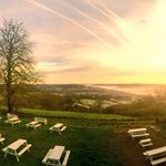 Beautiful frosty, misty morning over Bath @WeLoveBath http://t.co/0ZJEBqbSuu