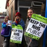 @DaniGlazzard supporting NHS workers at Southmead Hospital #nhsstrike #nocuts http://t.co/RlJ3RHSy2U