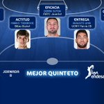 Tomic, Marko Todorovic, Suton (@BigTicketGmoney), @gutao_lima y @jaygranger11, Mejor Quinteto #LigaEndesa Jornada 8. http://t.co/Uv1i8lTfmH