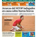 Los titulares del día en @ObservadorUY http://t.co/Sz6xVAZfHI