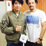 With Jason mraz!!!😀😀😀 http://t.co/l5u0dembnU