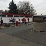 Auslaufen beim #fcn. Der Coach geht voran http://t.co/WSNoPnzW1L