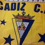 Tras una temporada en blanco, nuestra bandera vuelve a coger color. #cadizcf http://t.co/xYAkv7dkP7