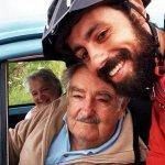 Brasileiro tira selfie com Mujica após pedalar cerca de 3 mil km até Uruguai http://t.co/CbA6hjIrCk #G1 http://t.co/N7PAA2Gl80