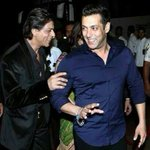 Shah Rukh Khan & Salman Khan are friends now! Bollywood two biggest superstar are back together. http://t.co/jDCnyqAnm4