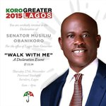 You are cordially invited! #WalkWithMe #ObanikoroDeclares #GreaterLagos http://t.co/93jWsR62qp