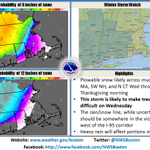 Significant winter storm likely to impact travel on Wednesday. Here is our latest thinking. http://t.co/W9Dx9I9EFX