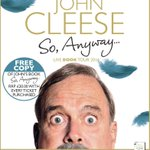 RT @McIntyre_Ents: THIS WEEK: see @JohnCleese at @TheWaterside1 as part of his UK tour for new book #SoAnyway http://t.co/mu8tDVT8Hm http:/…