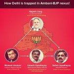 RT @SwachhPolitics: #DinnerWithKejriwal to help #MufflerMan break this Ambani-BJP Nexus in Delhi http://t.co/vcbbGwUmJD