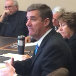 Great to see Senator Andy Sanborn (R) Bedford on the job in state budget hearings. #nhpolitics http://t.co/apDw6YJ1jF