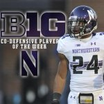 Safety Ibraheim Campbell named @B1GFootball Co-Defensive POW. Campbell had 8 tackles, 1 FF and 1 INT.  #B1GCats http://t.co/bmC4WGMUR5