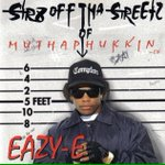 """Today on November 24th 1995, Eazy-E released his last album titled, """"Str8 Off Tha Streetz Of Muthaphukkin Compton"""". http://t.co/aQoNrPy0Rv"""