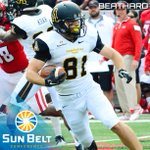 Congrats to @AppState_FB WR/RS Bobo Beathard, the Sun Belt Football Co-Special Teams Player of the Week! #FunBelt http://t.co/lJtFOyojdK