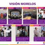 Les comparto el trabajo y acciones que realizamos con su apoyo para sacar adelante a #Morelos . #VisionMorelos http://t.co/OEuZ4Jw4H5