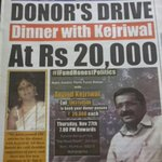 """""""@aartic02: Have #DinnerWithKejriwal .. Support Transparent Politics http://t.co/dY1TZI6YXJ"""""""