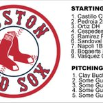 Ladies and gentlemen, your 2015 Boston Red Sox http://t.co/P9N74R2G1Y