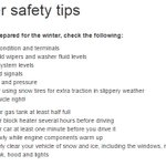 Dont let todays weather fool you - the cold is coming! Here are some winter safety tips for drivers. #Toronto http://t.co/lumvP3v73X