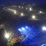 This crowd is much bigger than #PTI #PPP & #PMLN gatherings... hey na?? :P #WeAreWithHaq #JI #IjtamaeAamJI #Pakistan http://t.co/UP0x5l7s67