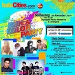 Event paling hitzzz di indonesia ada di semarang, Minggu 30 november. Semarang @RunColorParty http://t.co/2TIzFSClp3