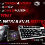 RT y FOLLOW a @TorpedoGSystems @apsc2 y @CoolerMasterEs para entrar en el SORTEO de los productos de la imagen =) http://t.co/lX6K8CYtNy