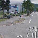 ブゥ~ε=▽・。・▽…食べてたリンゴ吹いた…RT @yutagta5 グーグルマップでストリートビューの車がスピードで捕まってた https://t.co/PsZGeMNSfF  @aokomaki